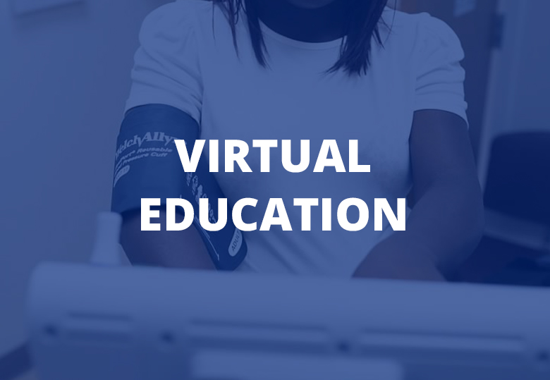 Text: Virtual Education